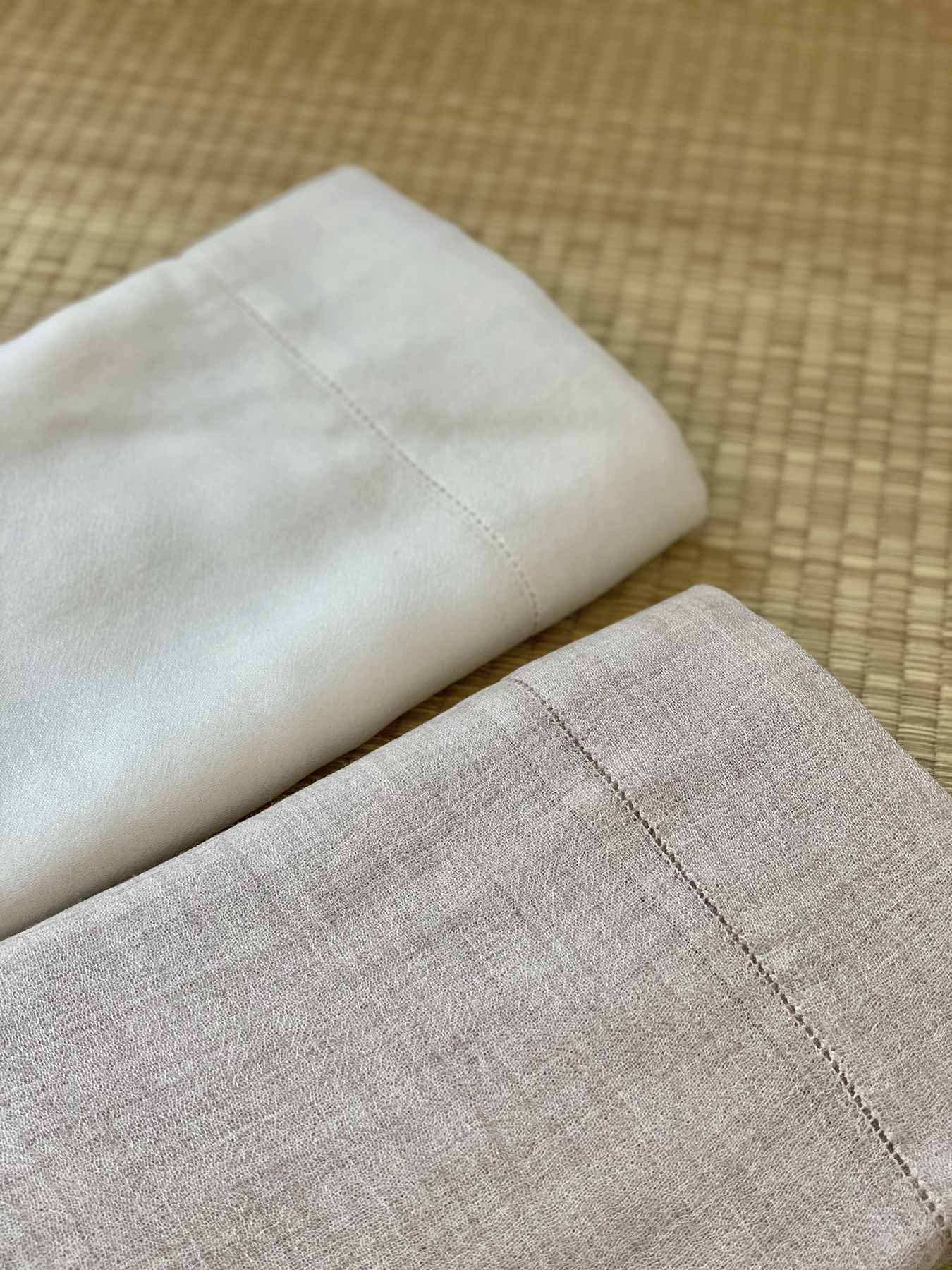 Feather Cashmere Wrap Ivory 4