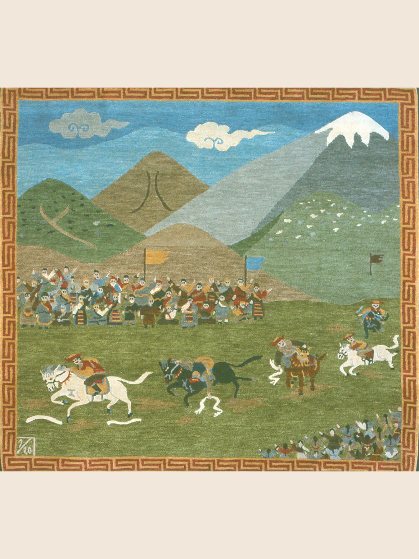 Handwoven Rug Horse Festival