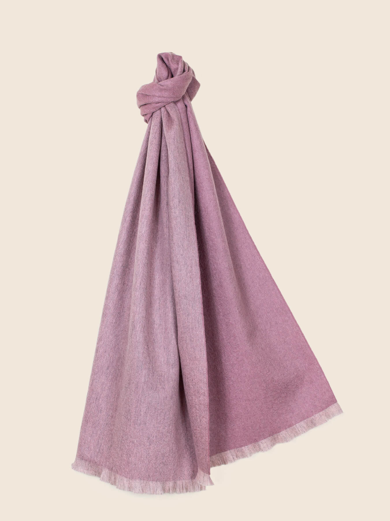 Timeless Reversible Cashmere Scarf Rose 1