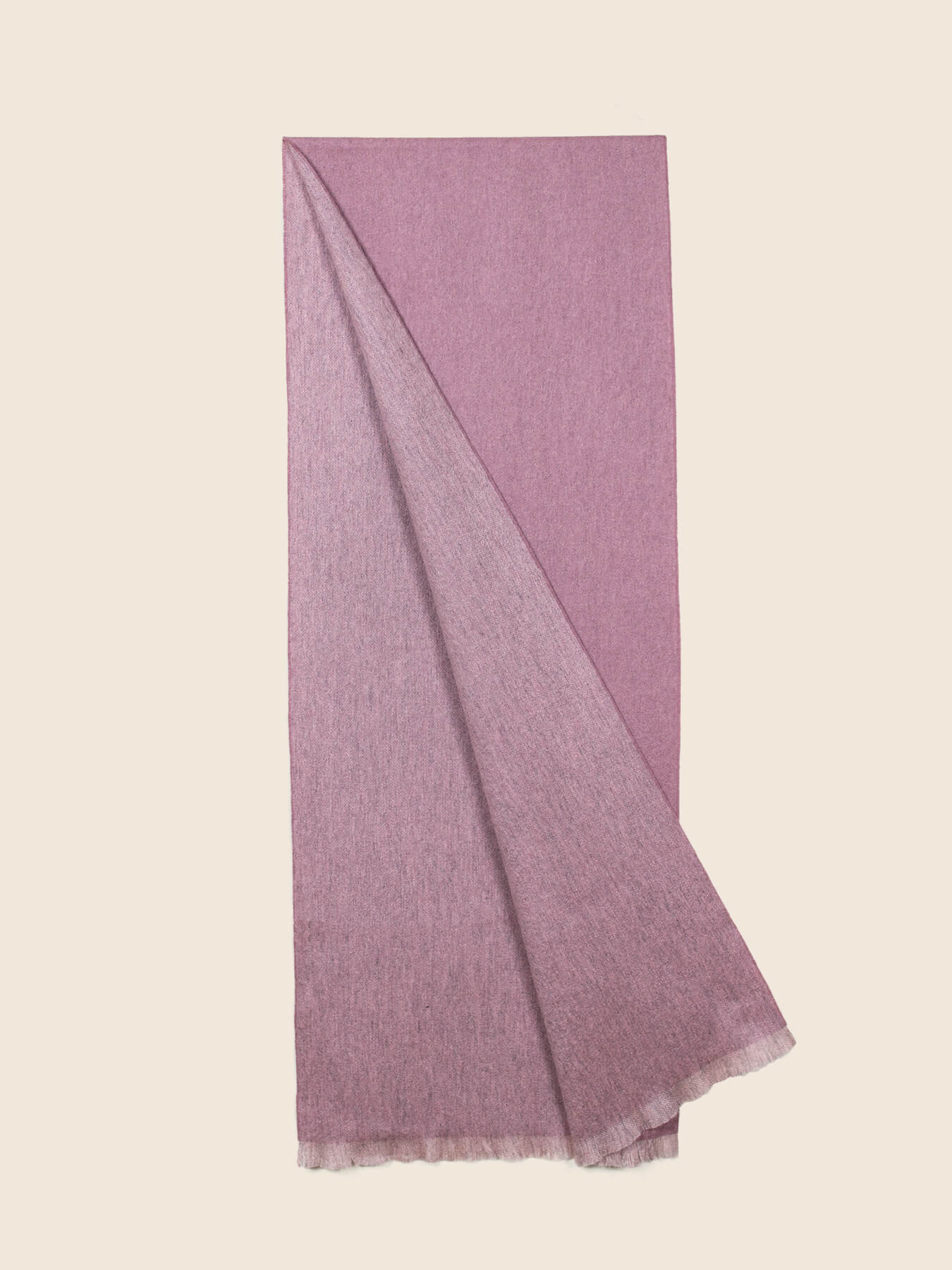 Timeless Reversible Cashmere Scarf Rose 2
