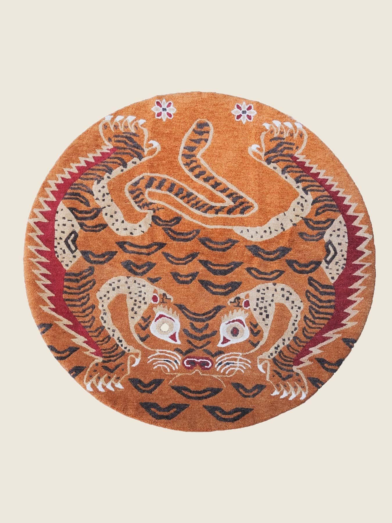 Tiger Wheel Of Dharma yx-01