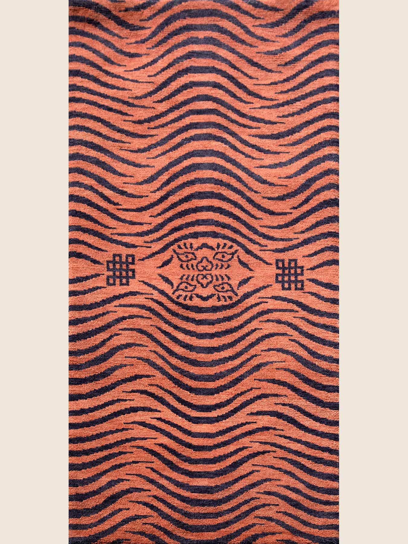 skin on tiger back pattern zt-01